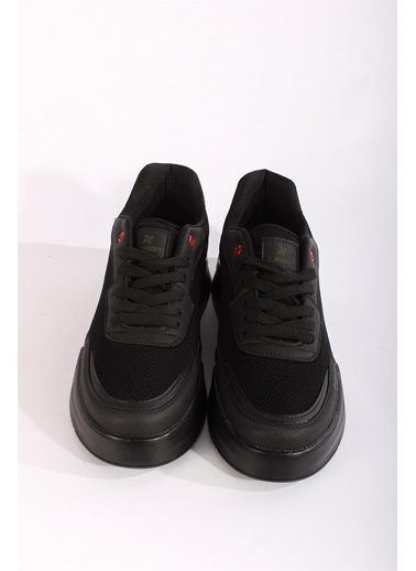 Rodrigo Erkek Beyaz Rahat Tabanlı Sneaker Ayakkabı Siyah